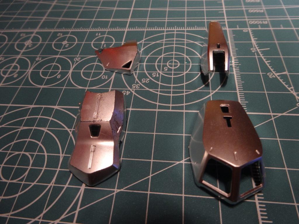 MG 百式 Ver.2.0 メッキ剥がし2