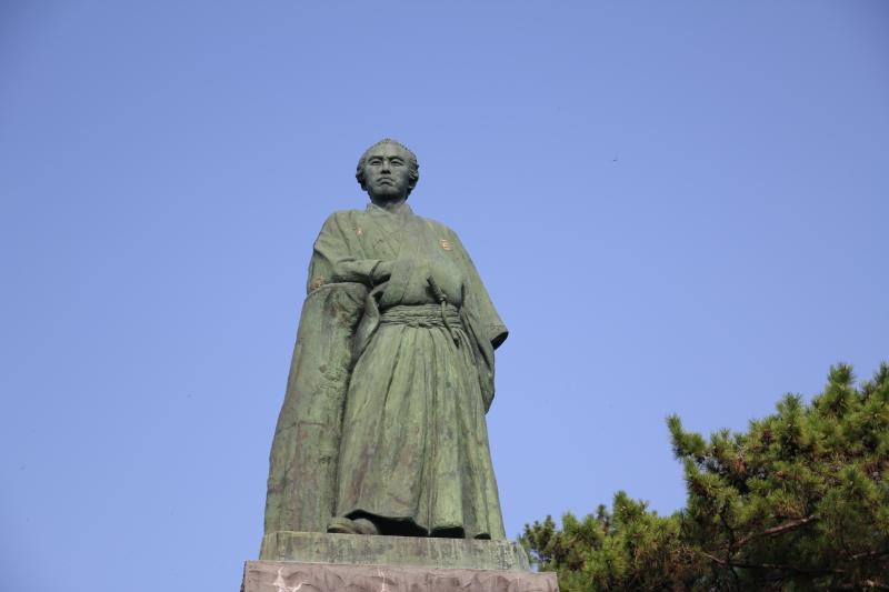 桂浜_坂本龍馬像