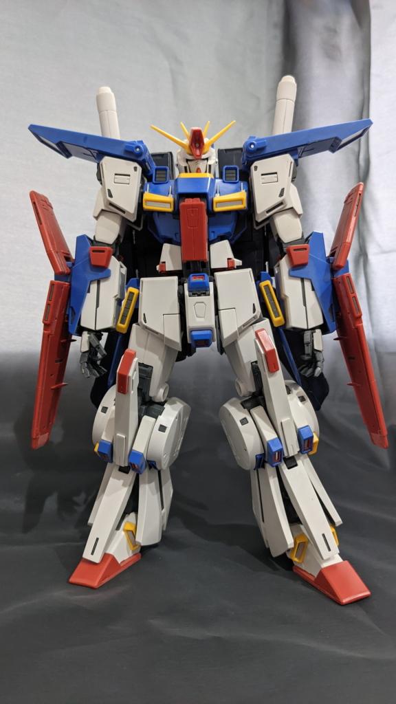 MG ZZガンダム Ver.Ka 制作_01